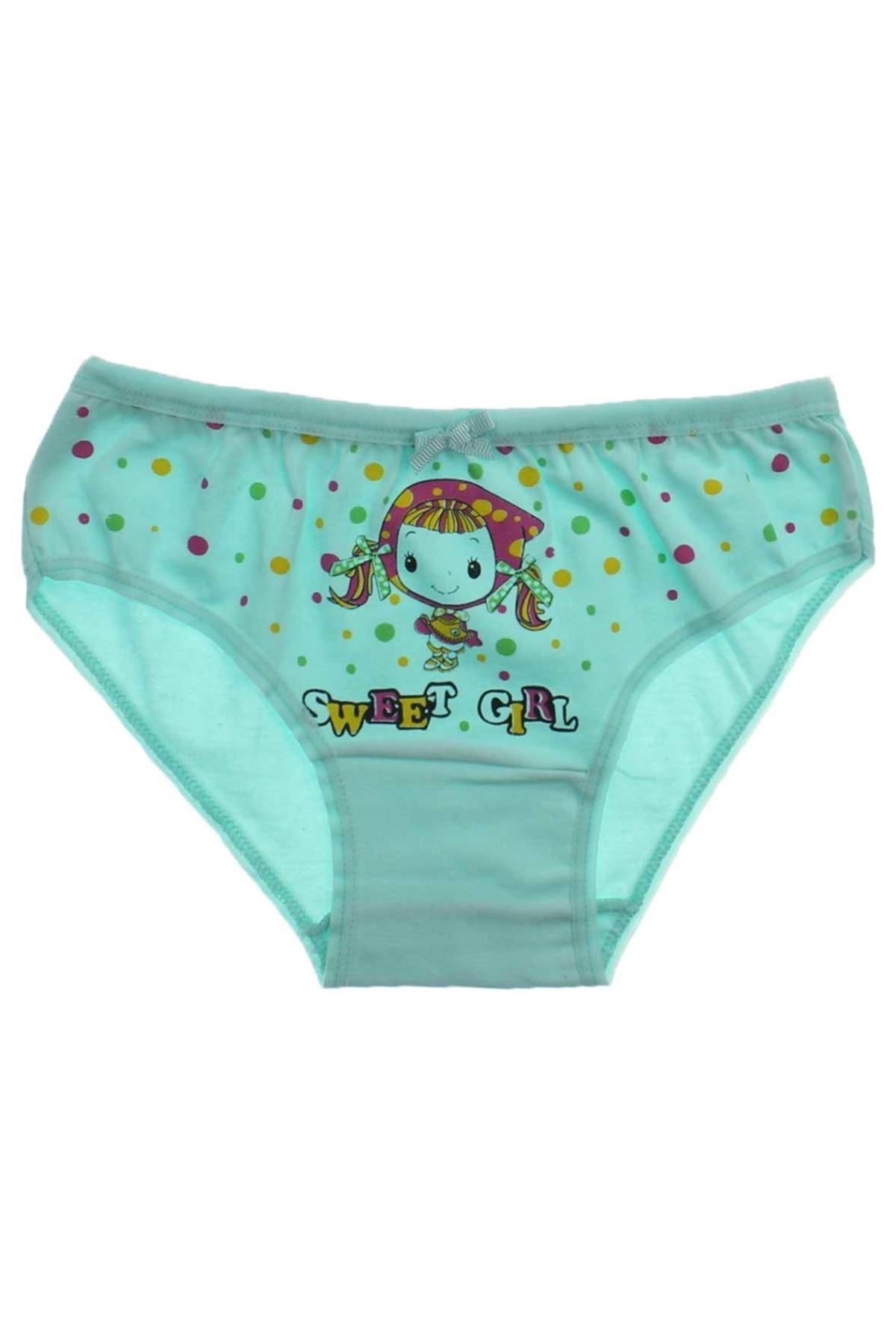 Gümüş İç Giyim 6 lı Kız Çocuk Külot 040-3091-021
