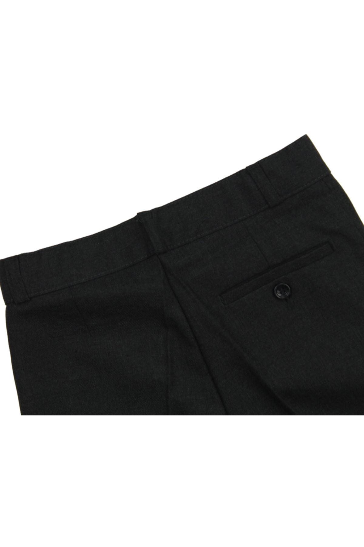Modakıds Erkek Çocuk Füme Okul Pantalon