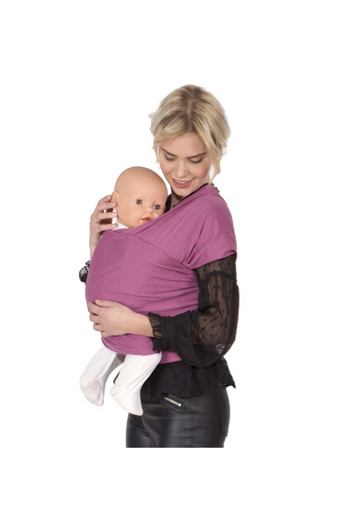 Sevi Bebe Kız Bebek Taşıma Şalı