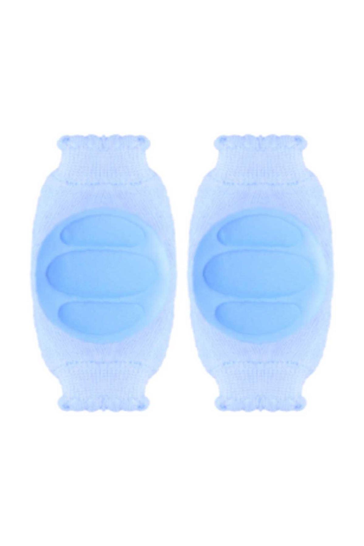 Mavi Erkek Bebek Emekleme Dizliği