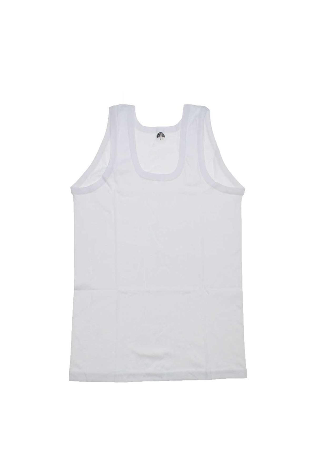 Gümüş İç Giyim Erkek 6lı Ribana Askılı Atlet 040-3002-027