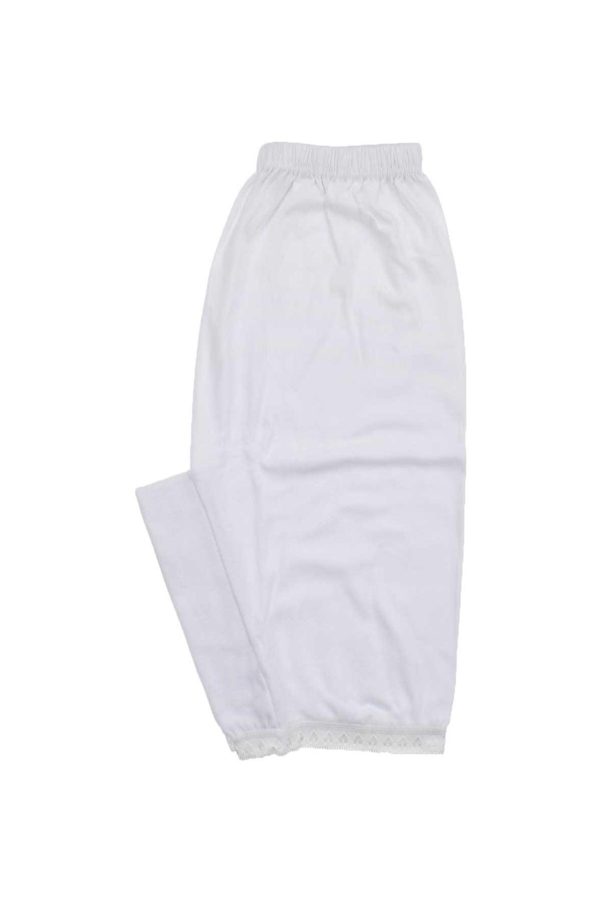 Gümüş İç Giyim Bayan Beyaz Paçalı