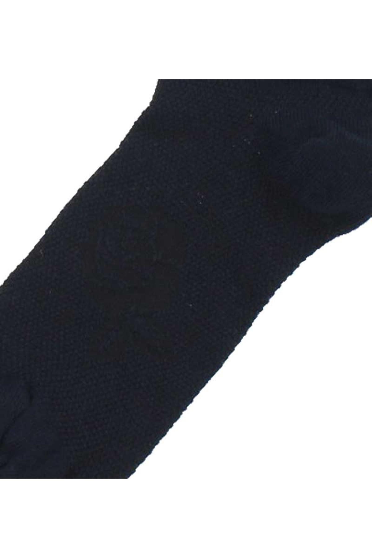 ByJawali Kadın Lacivert Parfümlü Desenli Patik Çorap