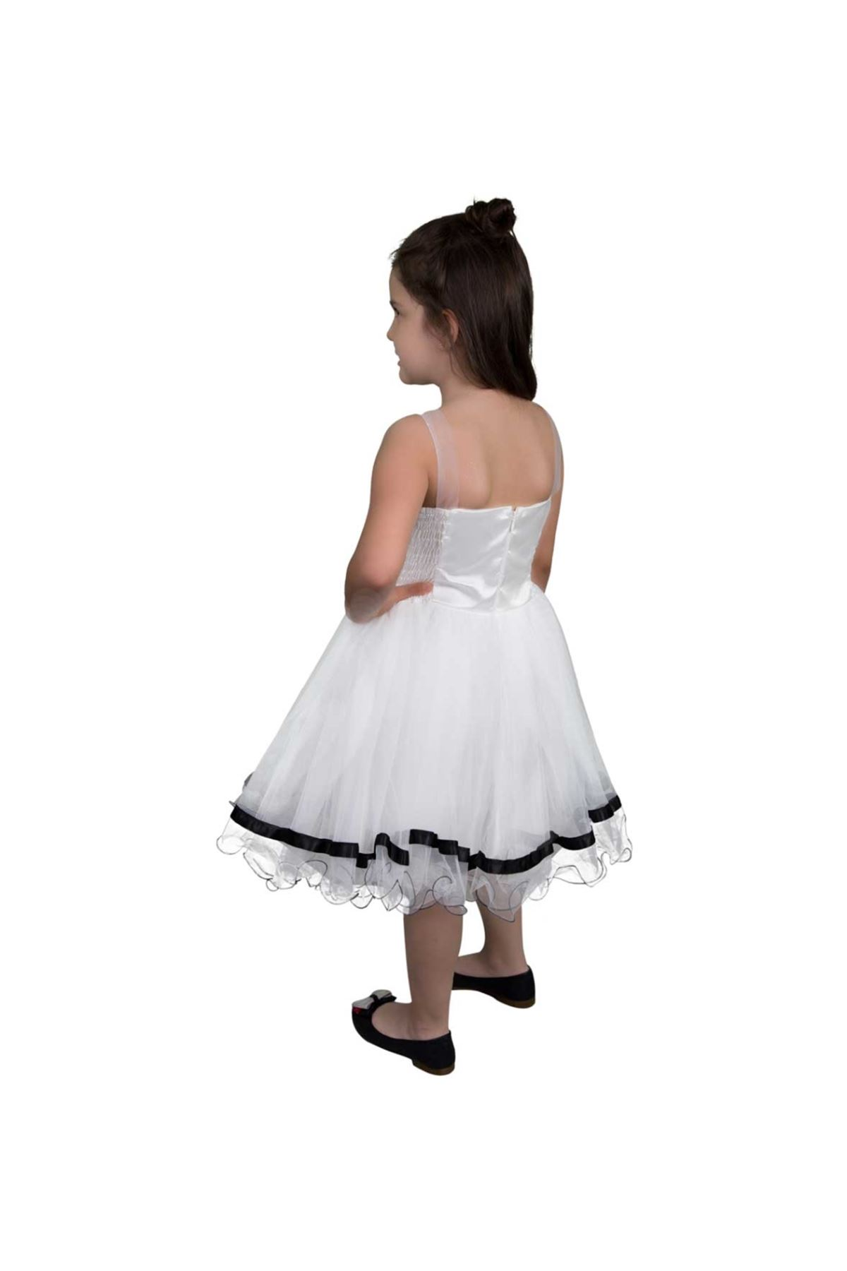 Modakids Kız Çocuk Kabarık Tüllü Abiye Elbise