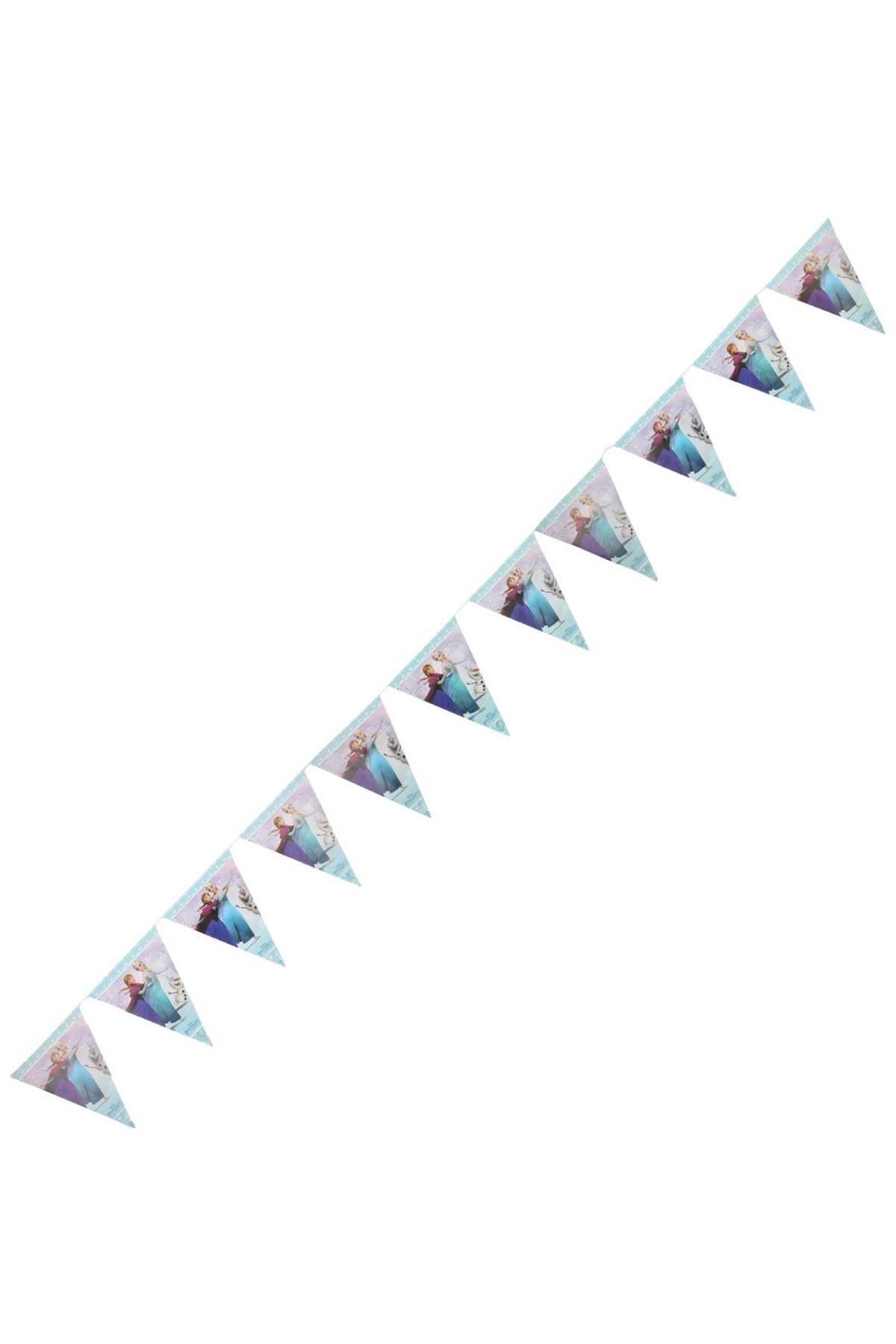Frozen Lisanslı 11 li Üçgen Bayrak