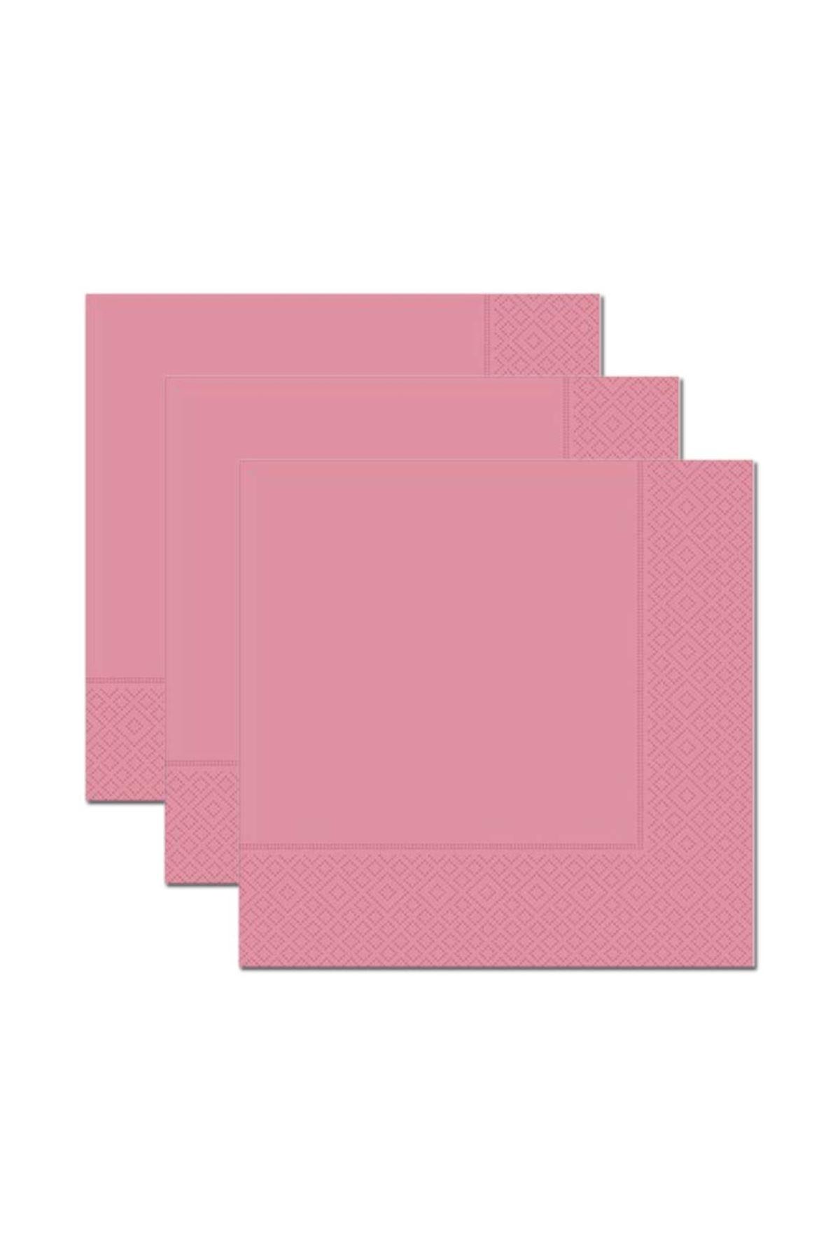 Pembe 20 li Kağıt Peçete