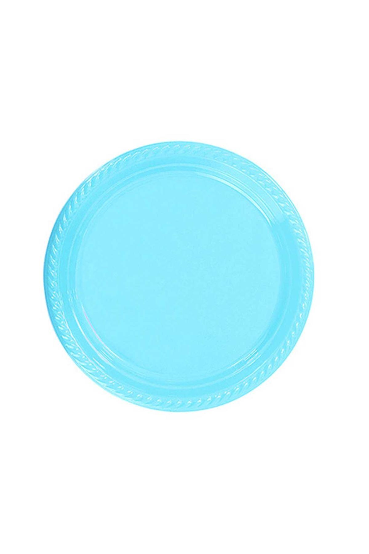 Mavi Plastik Tabak