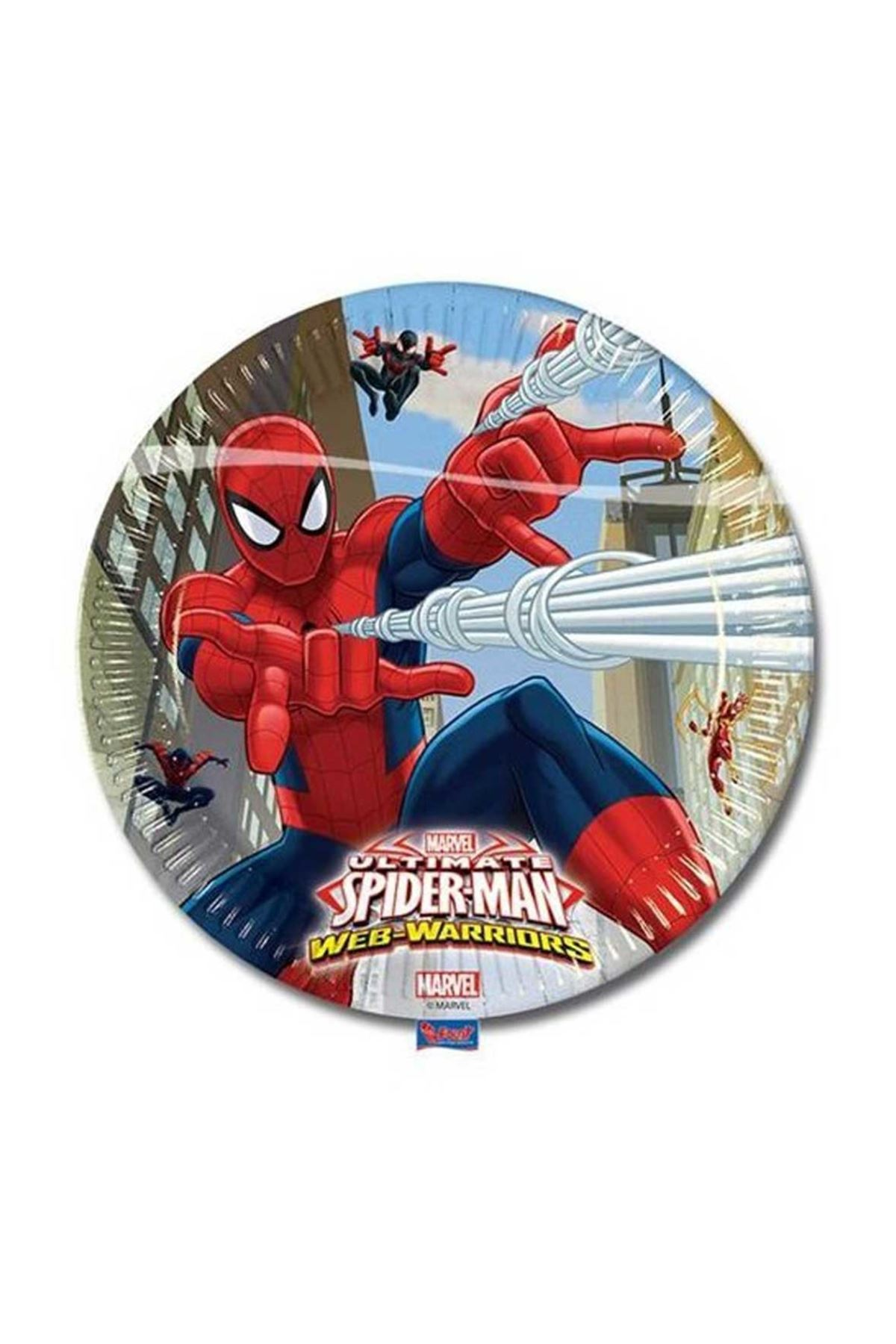 Örümcek Adam Lisanslı 8 li Parti Tabağı