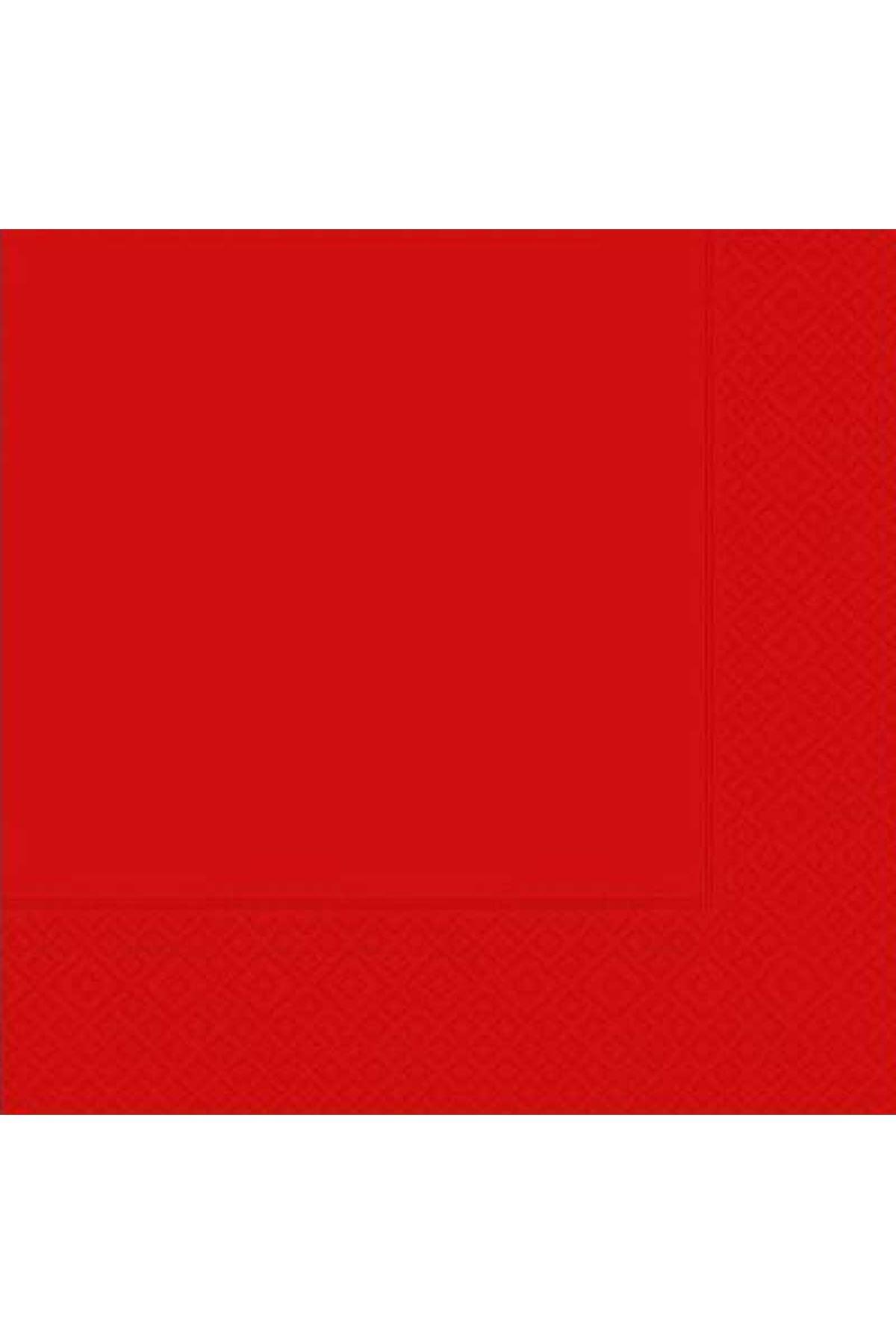 Kırmızı 20 li Kağıt Peçete