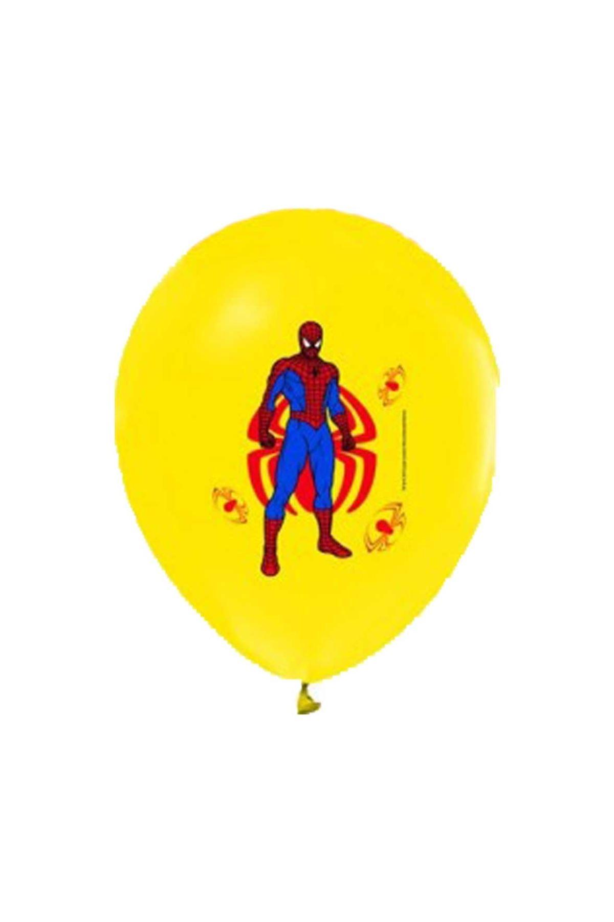 Örümcek Adam Sarı Balon