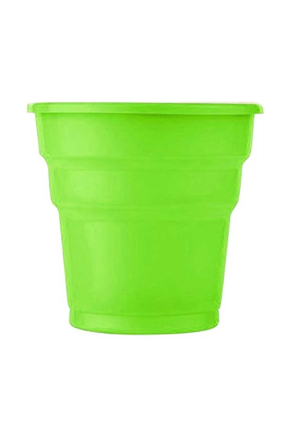 Yeşil Adet Plastik Bardak