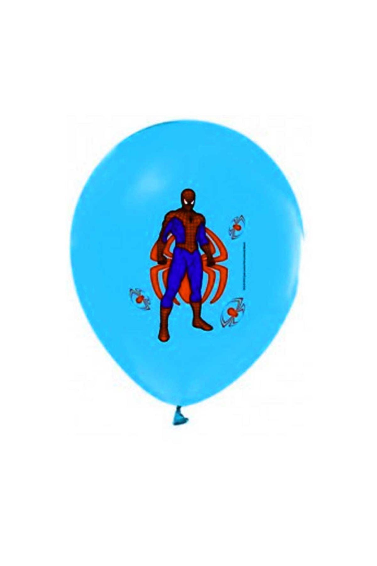 Örümcek Adam Mavi Balon