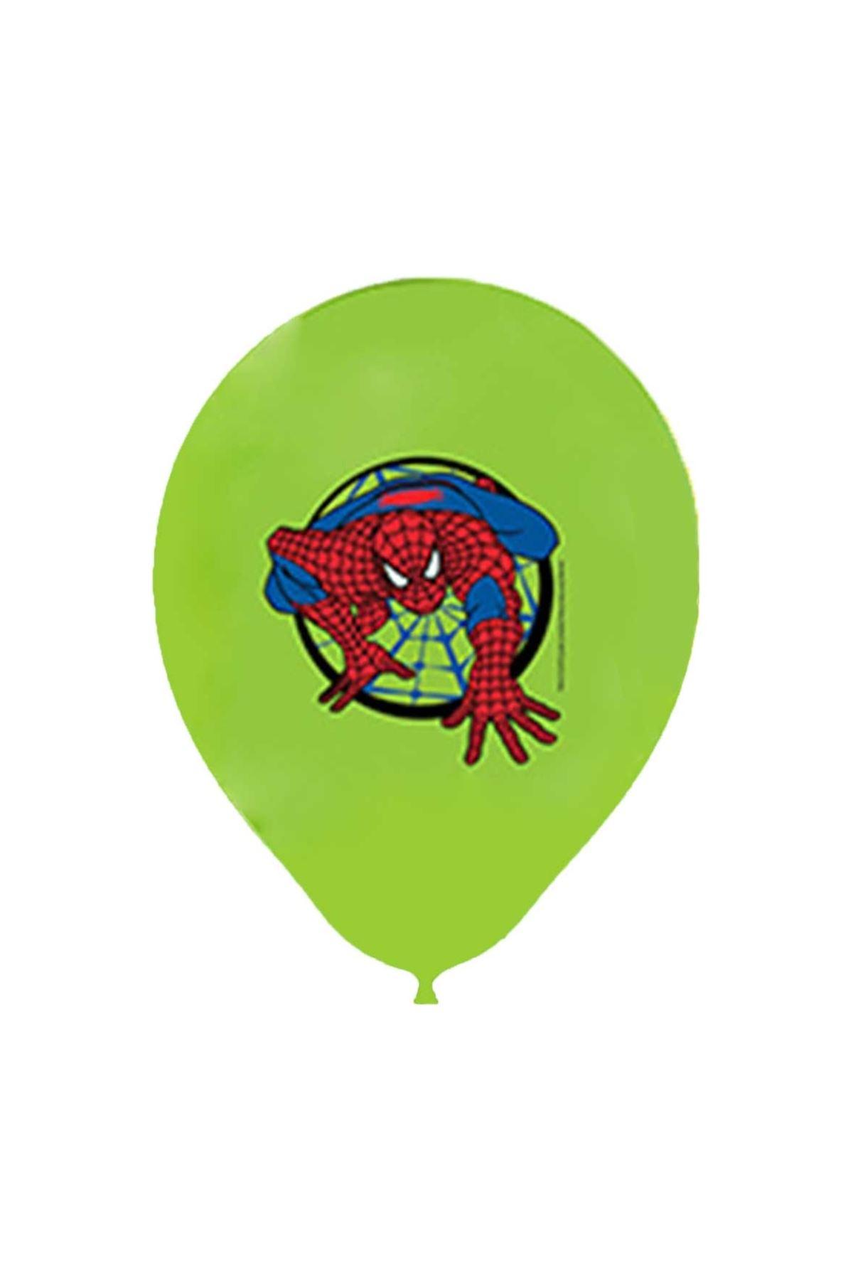 Örümcek Adam Yeşil Balon