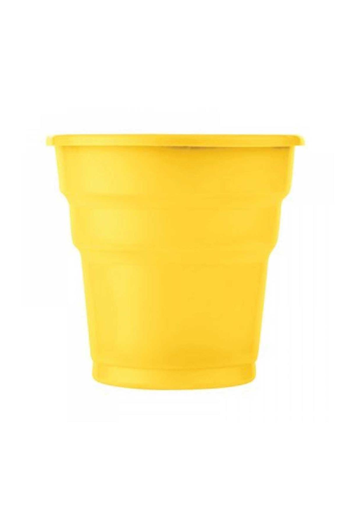 Sarı Plastik Bardak