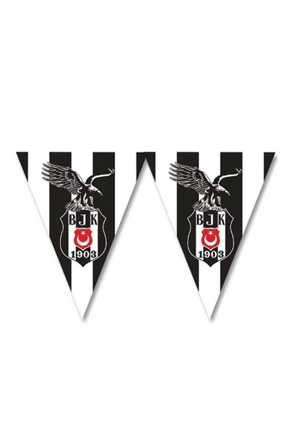 Beşiktaş Lisanslı 11 li Üçgen Bayrak