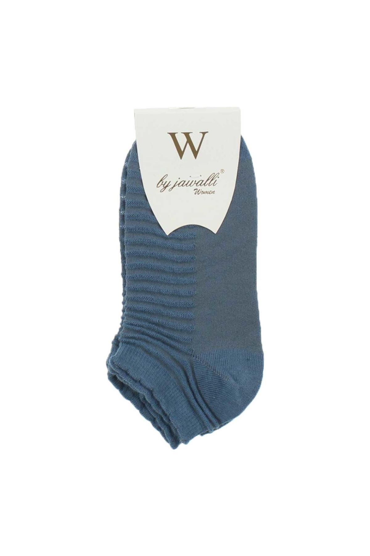 By Jawalli Kadın Antrasit Parfümlü Patik Çorap