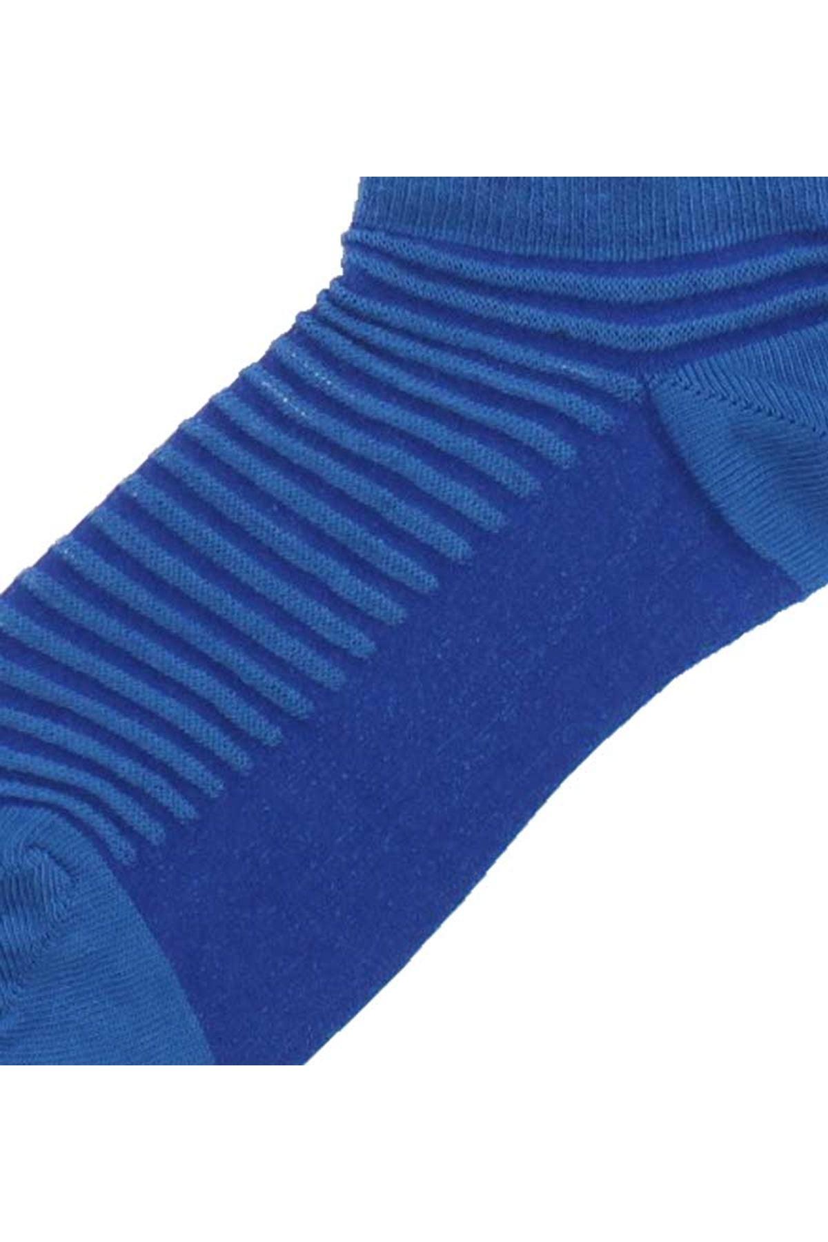 By Jawalli Kadın Mavi Parfümlü Patik Çorap