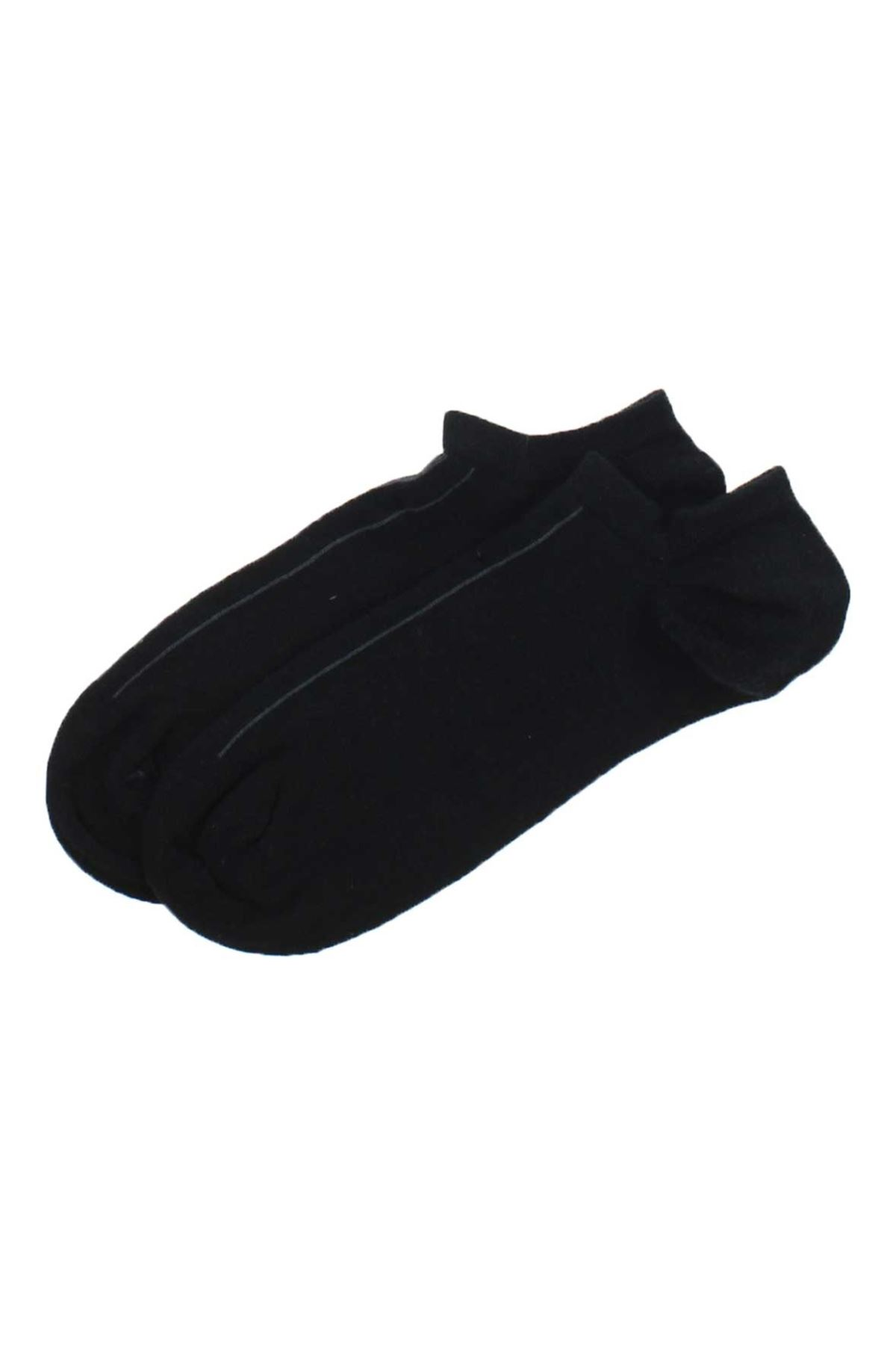 ByJawalli Erkek Siyah Sporcu Parfümlü Patik Çorap