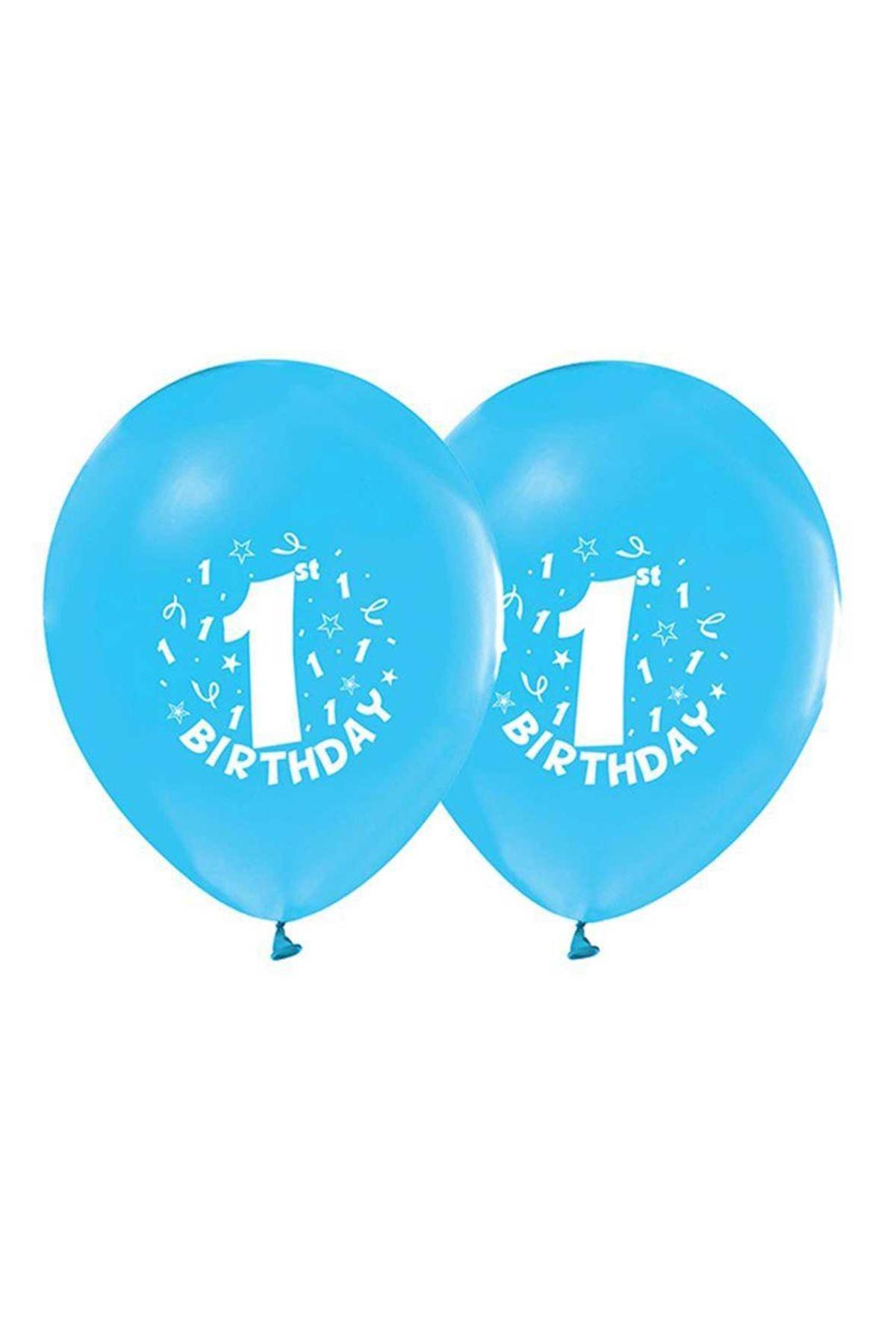 Mavi 1 Yaş Balon