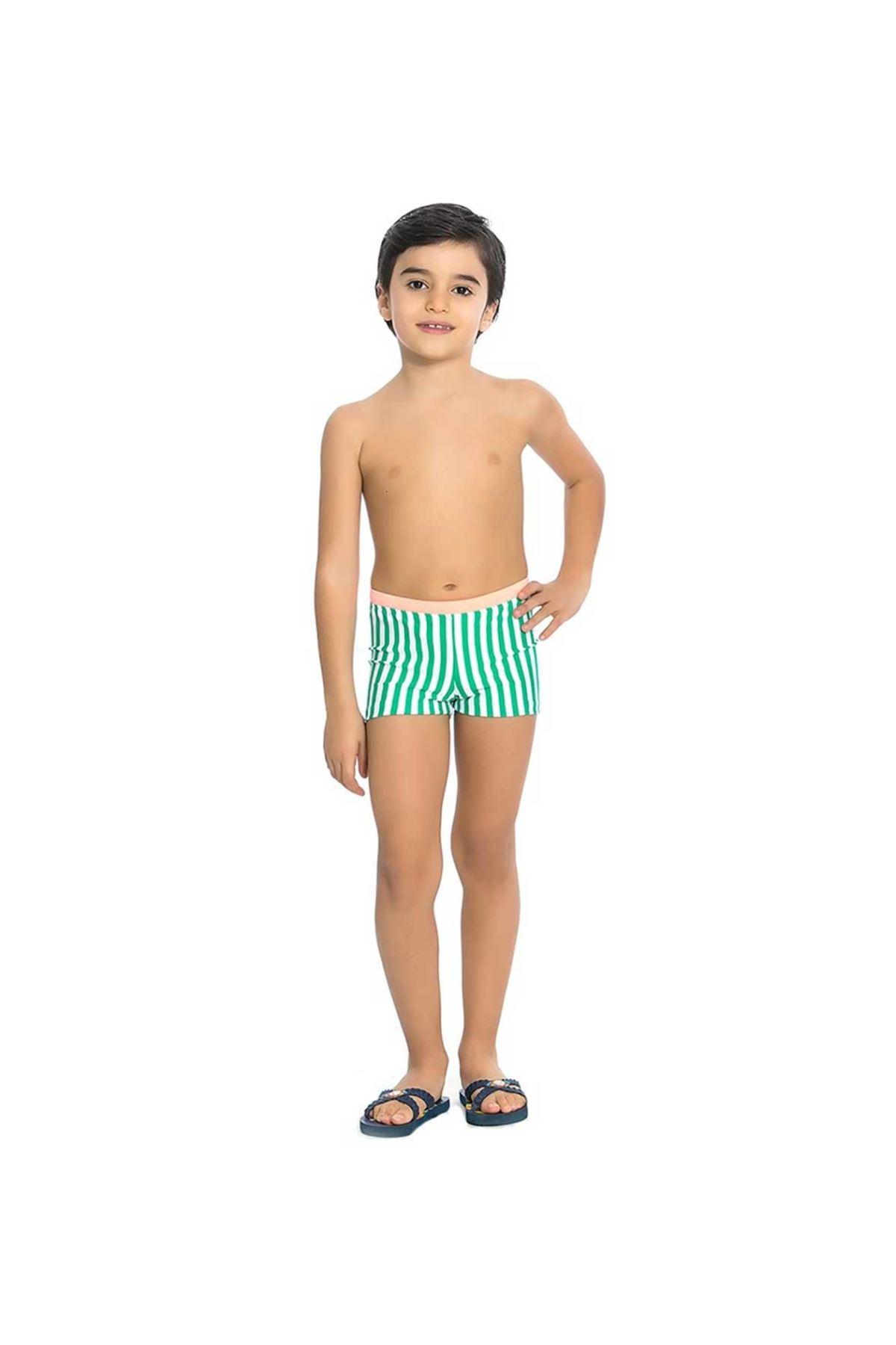 Asmay Erkek Çocuk Paçalı Mayo