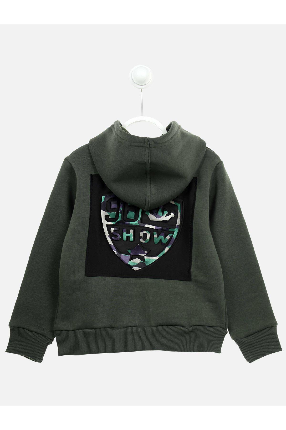Khaki Winterisation Male Child Jacket