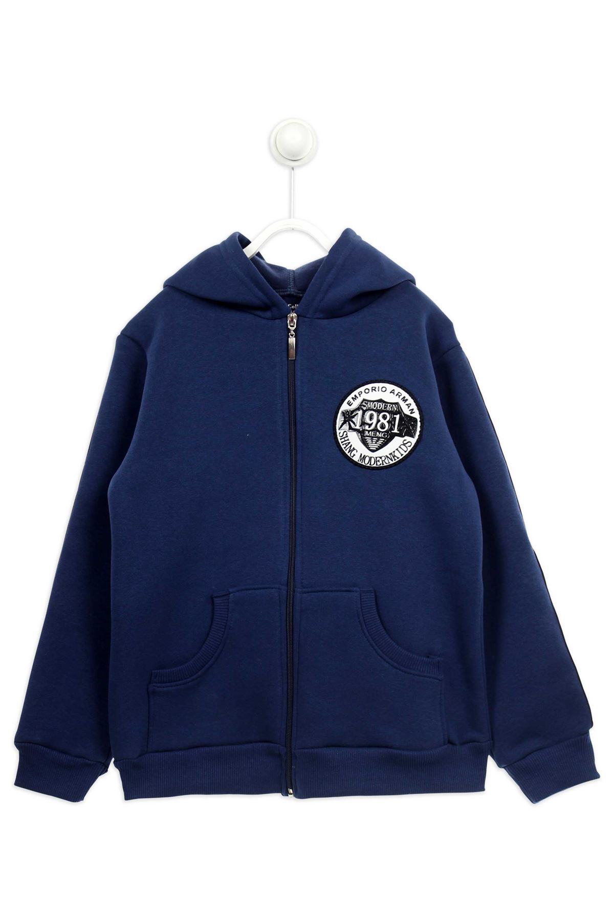 Indigo Winterisation Male Child Jacket