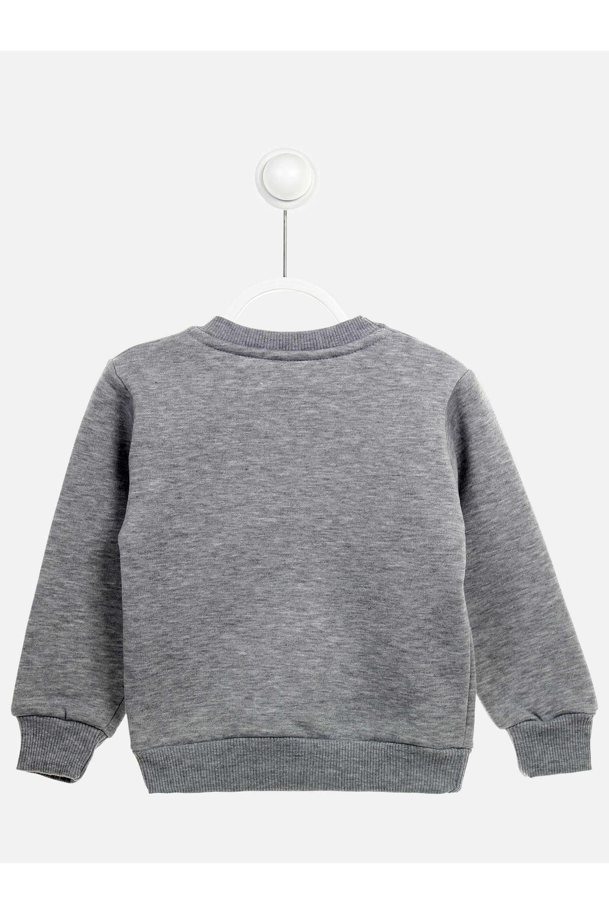 Gray Winter Girls Children Sweatshirts