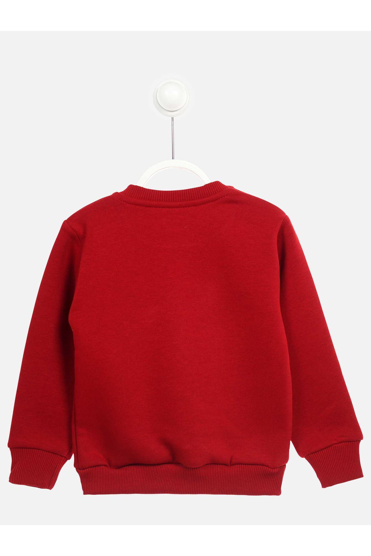 Red Winter Girls Children Sweatshirts