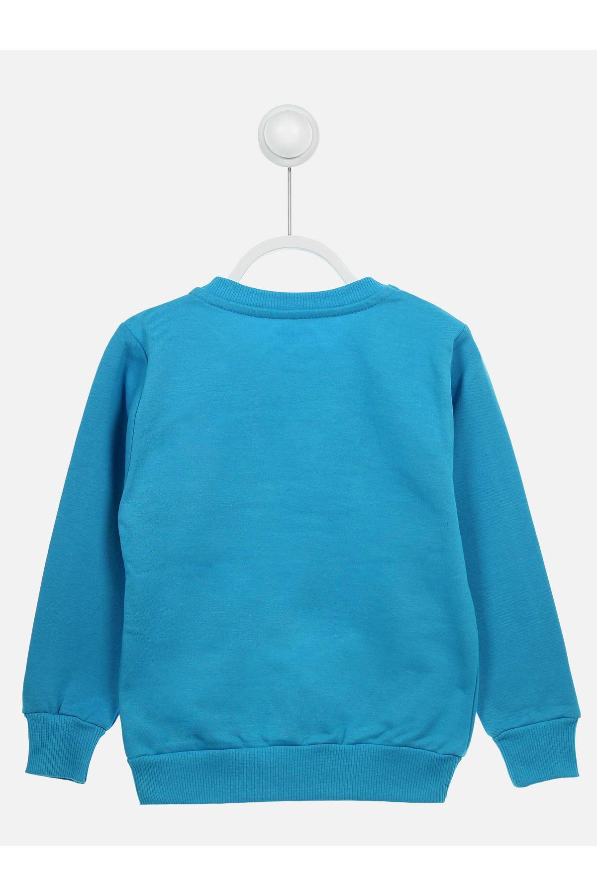 Turquoise Seasonal Girl Child Sweatshirt