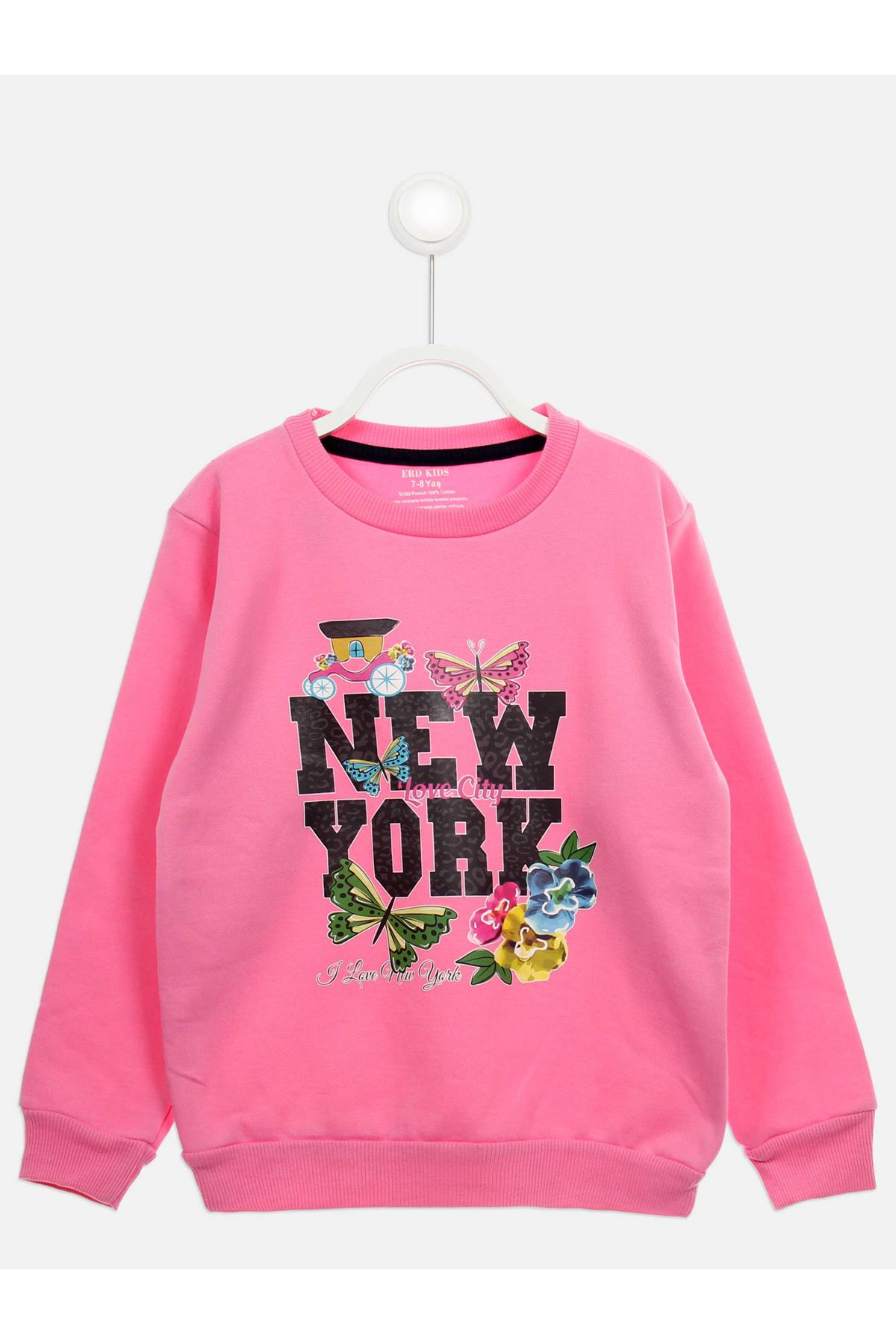 Light Pink Seasonal Girl Child Sweatshirt