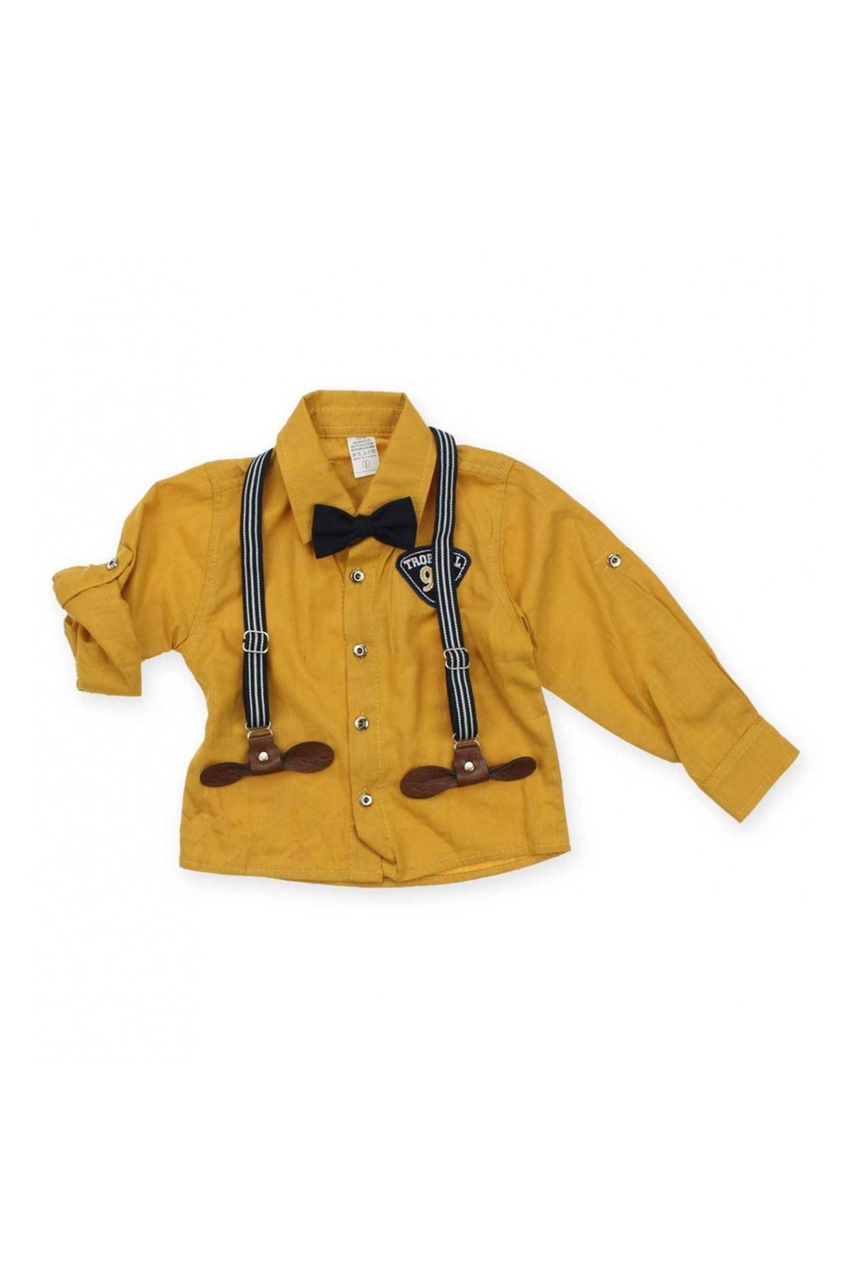 Modakids Erkek Çocuk Papyonlu Askılı Takım 019-4942-031
