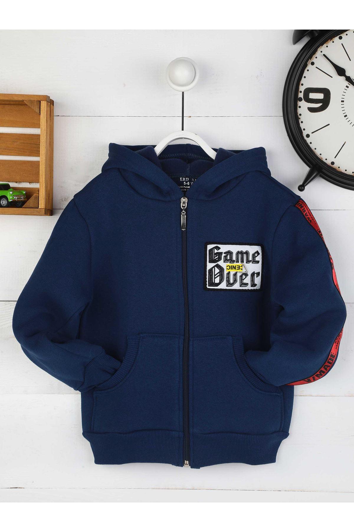İndigo Kışlık Erkek Çocuk Ceket