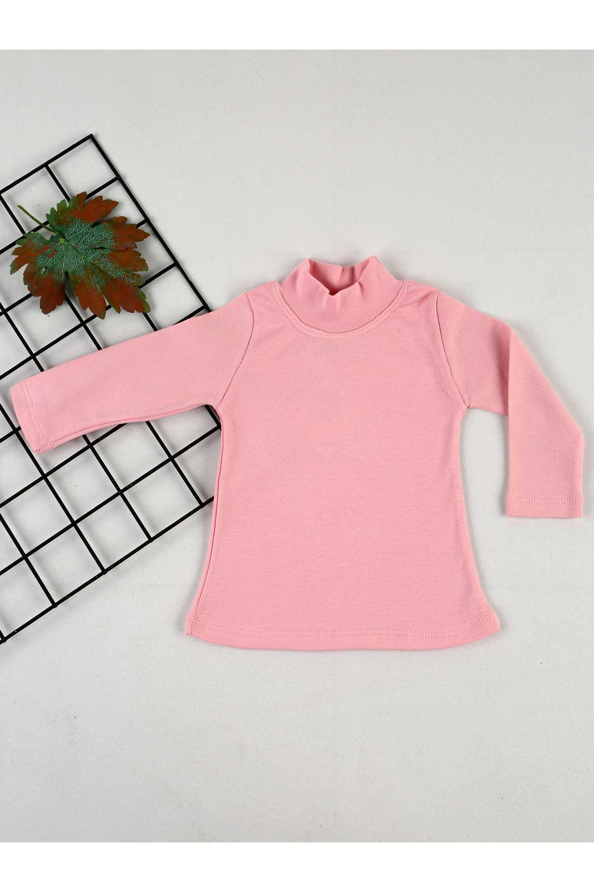 Pink Turtleneck Female Child Badi