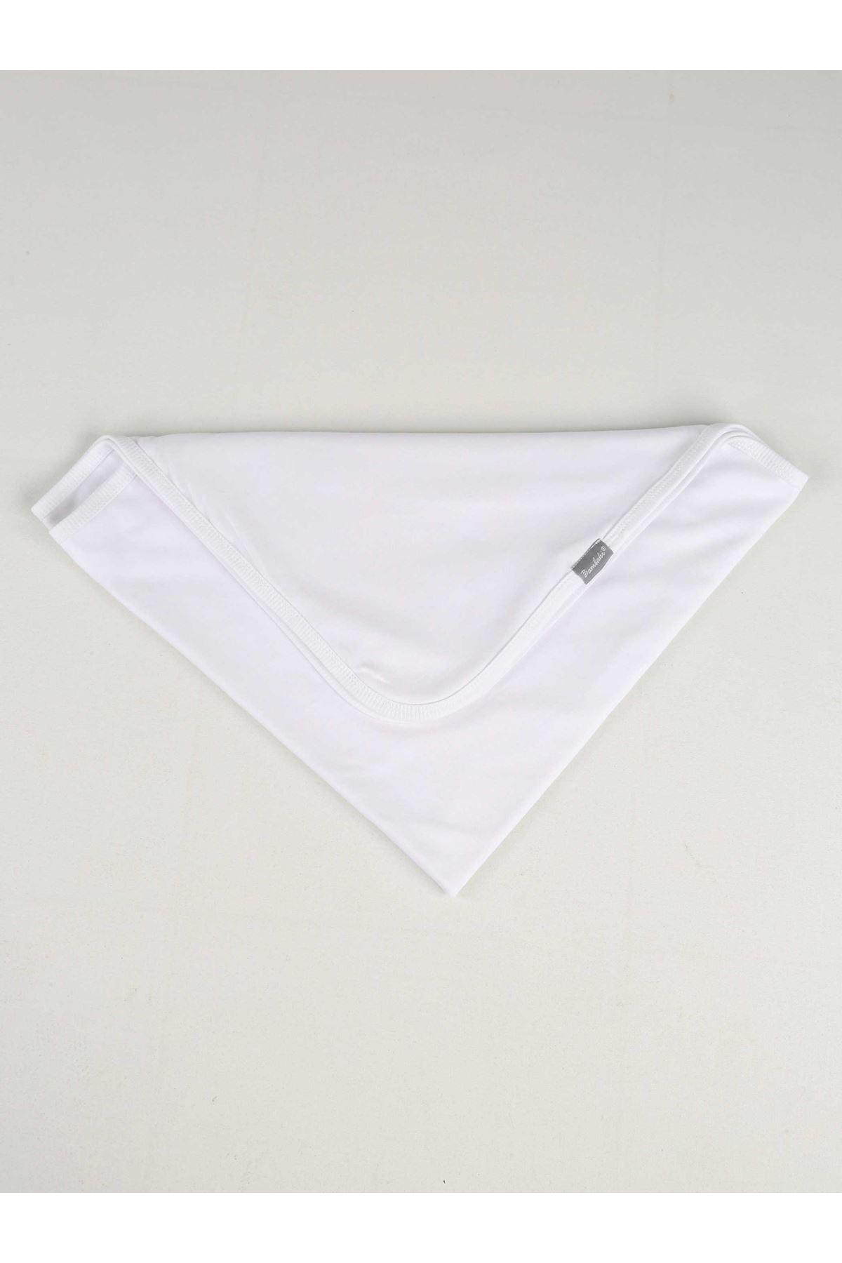 White Girl Boy Newborn Baby Blanket Cotton Soft Seasonal Plain Comfortable Babies 85X85 cm