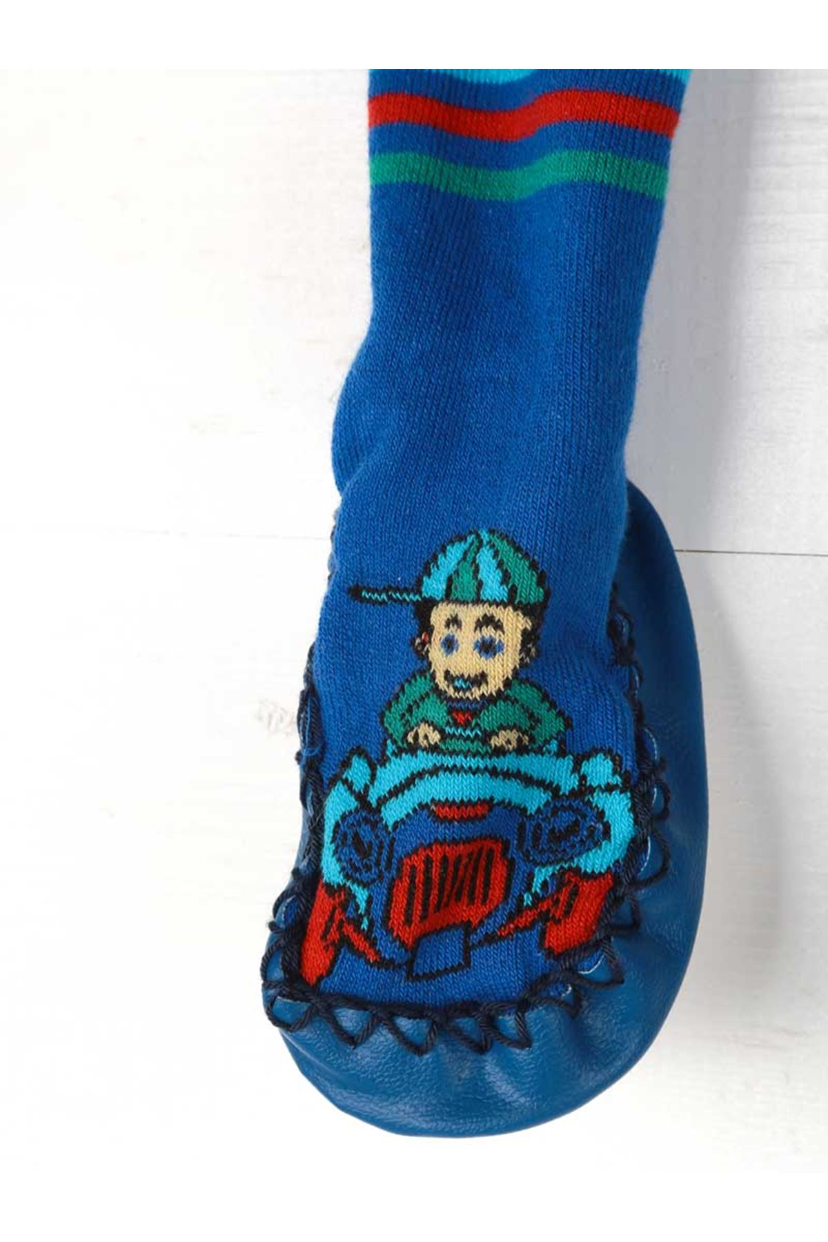 Erkek Bebek Çarık Çorap