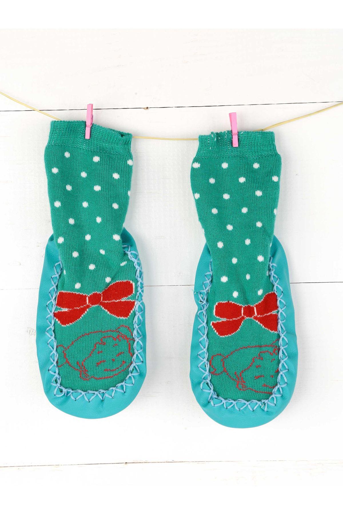 Kız Bebek Çarık Çorap