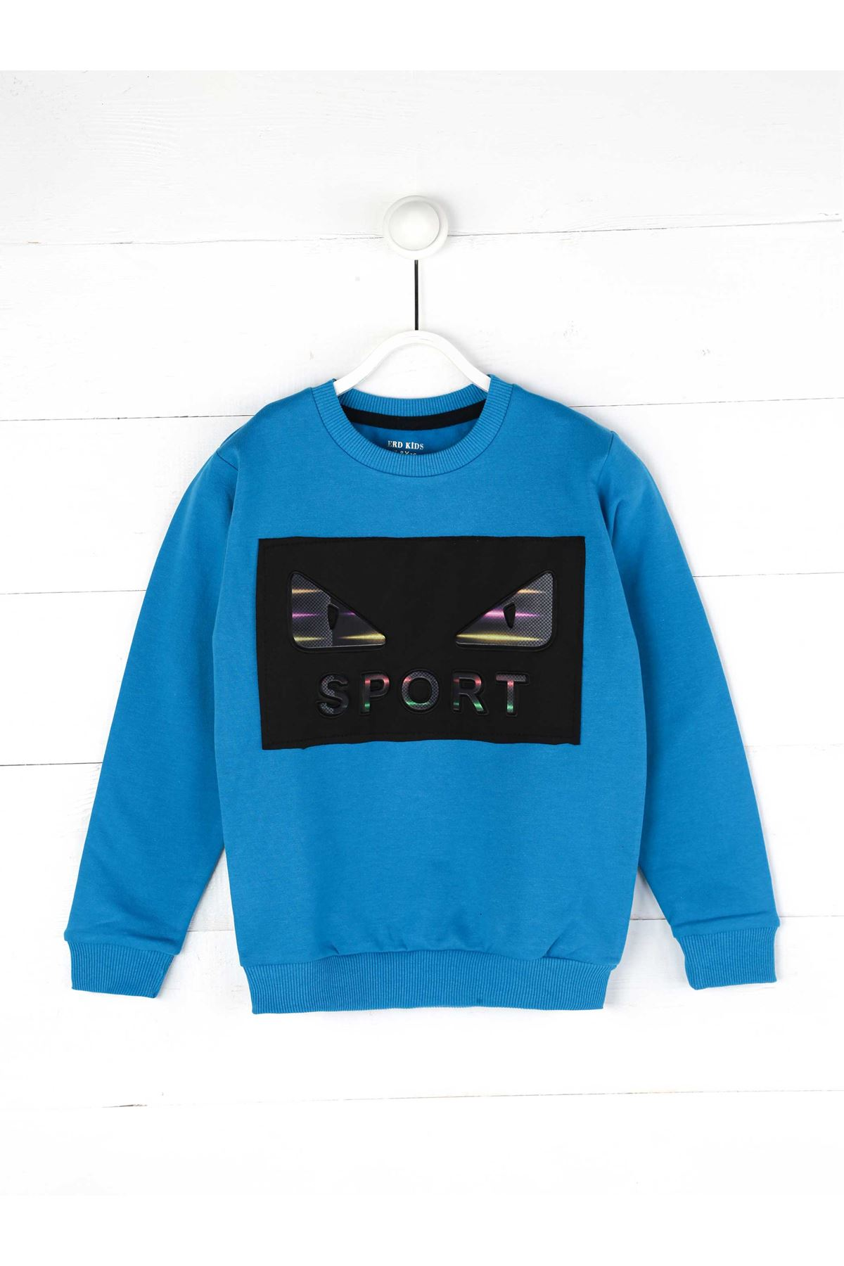 Blue Seasonal Male Child Sweatshirt