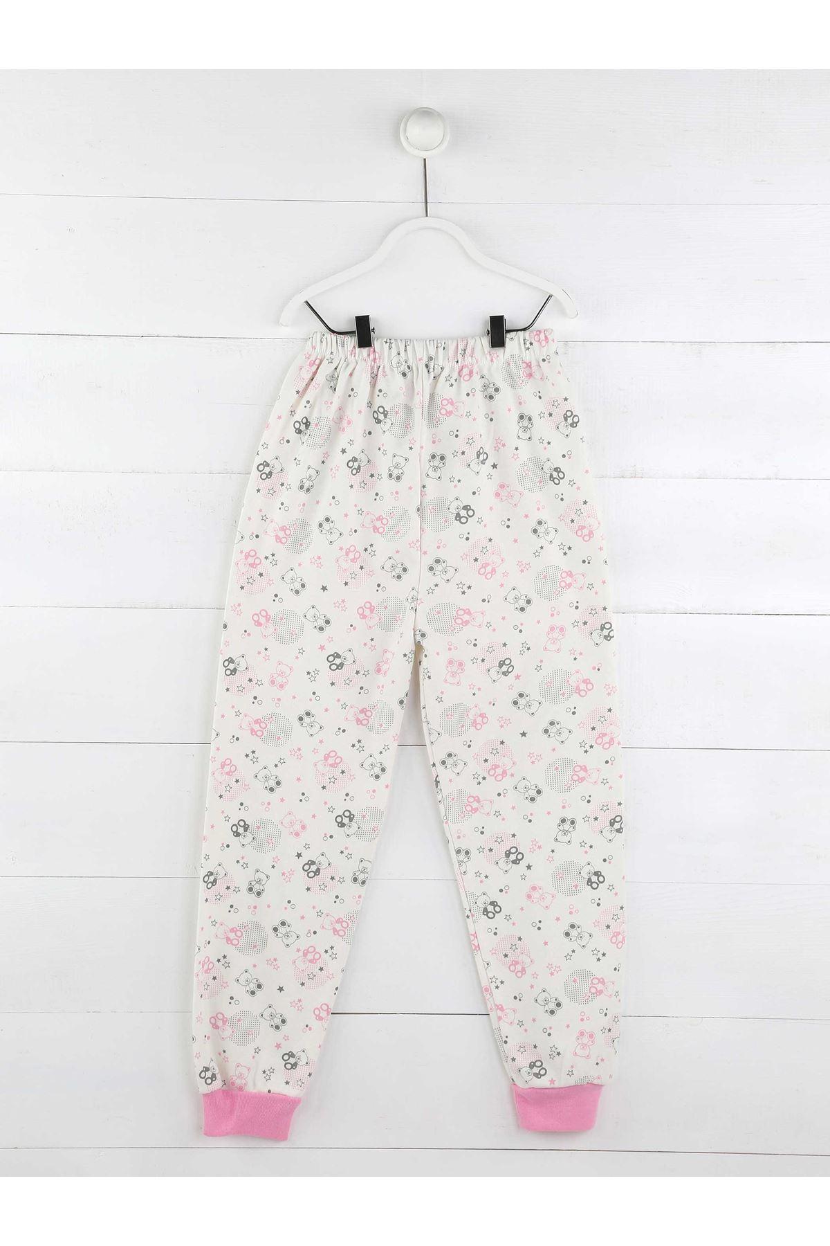 Pembe Kız Çocuk Pijama Takım