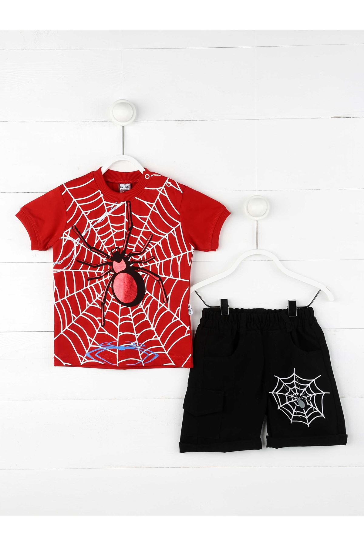 Red Summer Shorts Male Child Suit