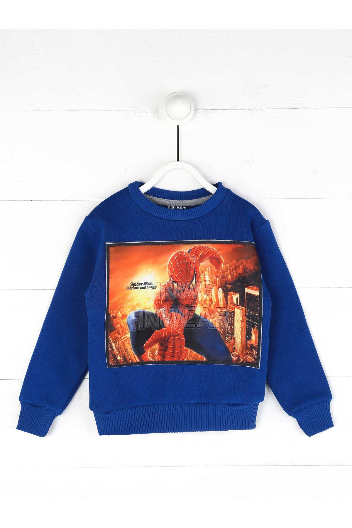 Sax Kışlık Erkek Çocuk Sweatshirt