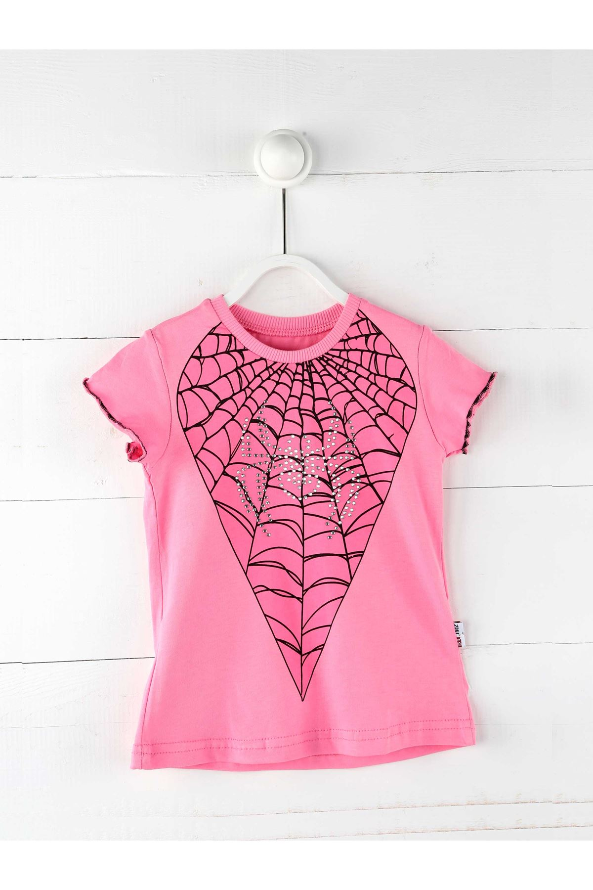 Pink Summer Girls Kids Skirted Suit