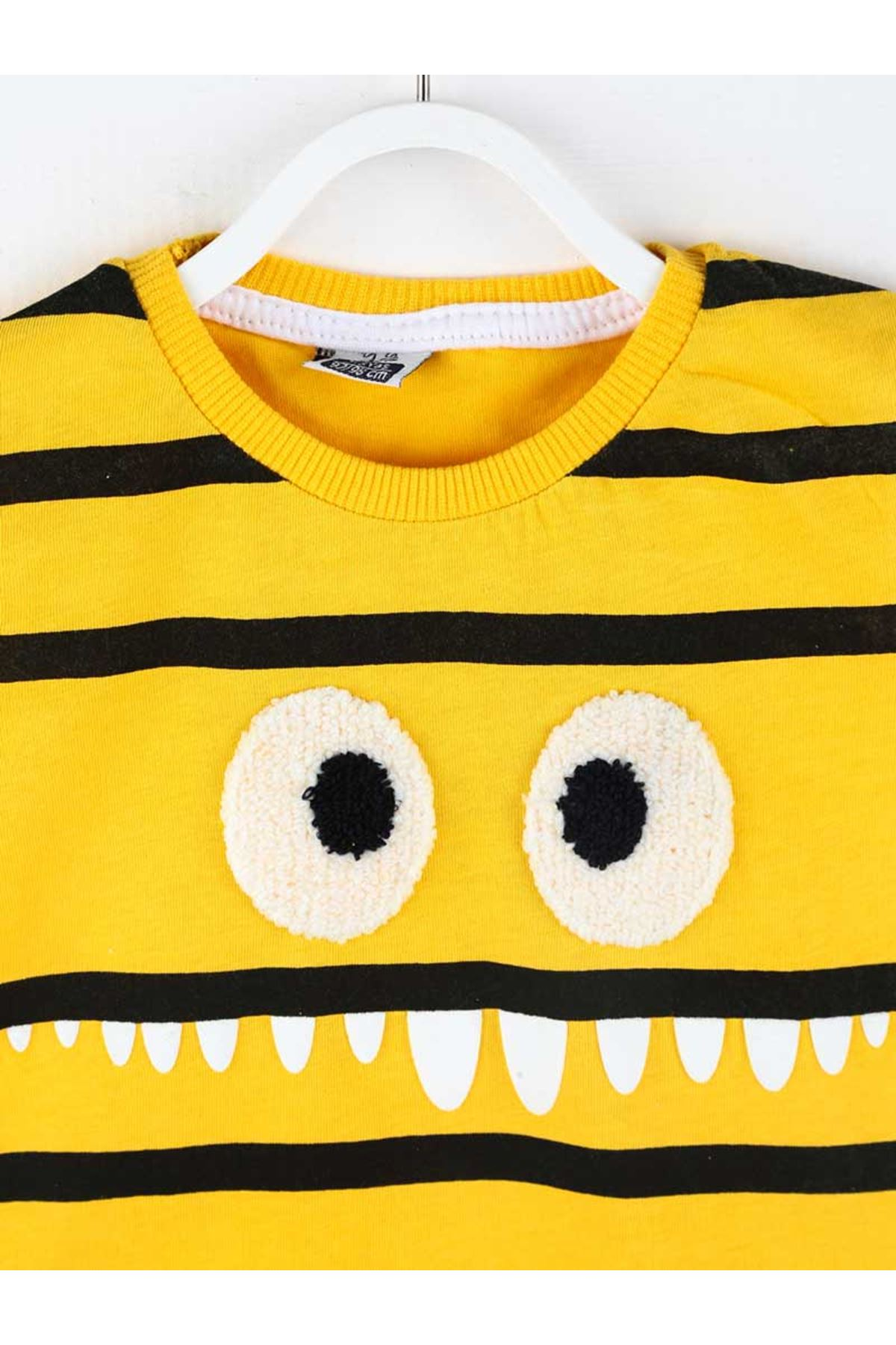 Sarı Yazlık Erkek Çocuk 2 li Takım