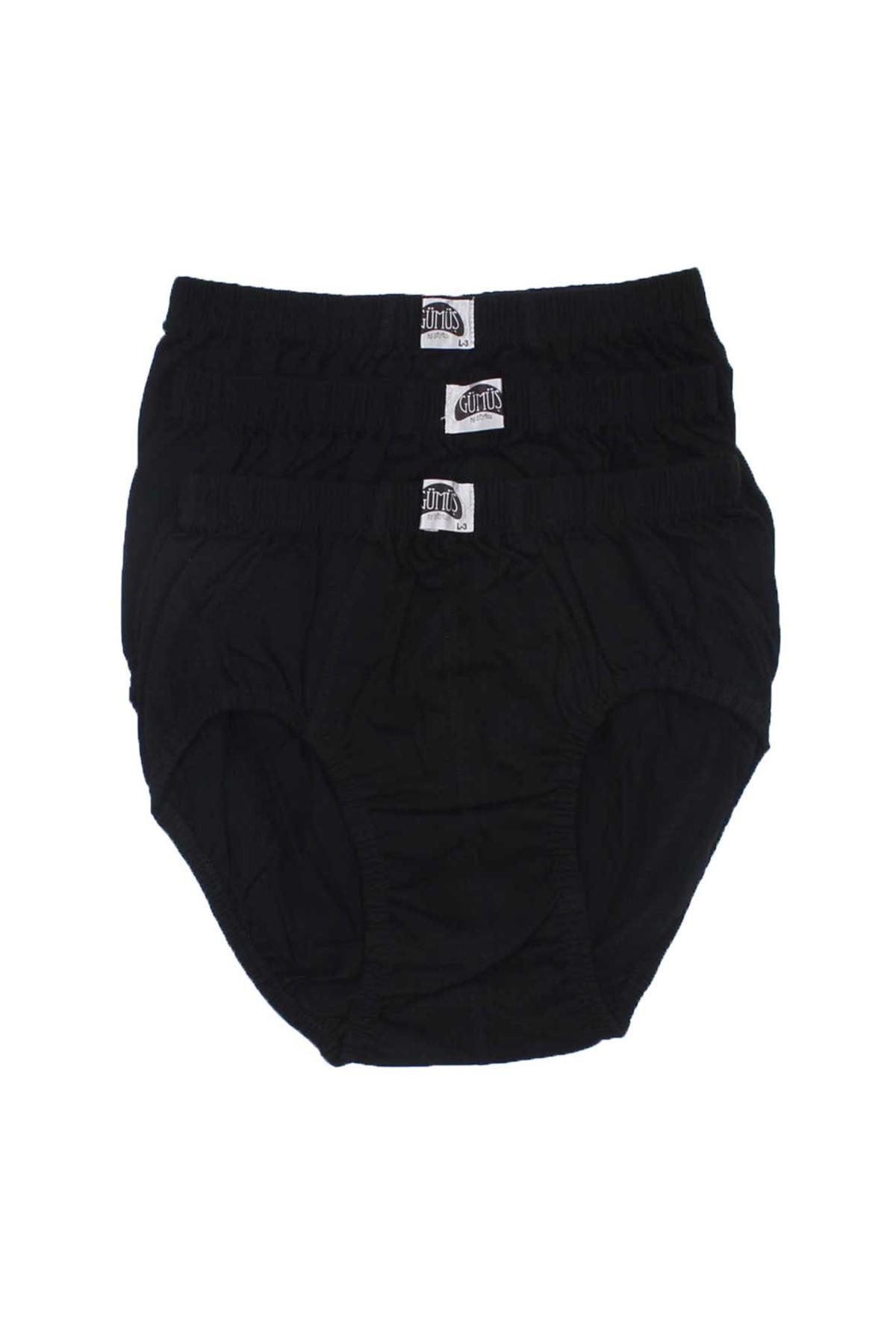 Silver Underwear Men 3 Pieces Komslip