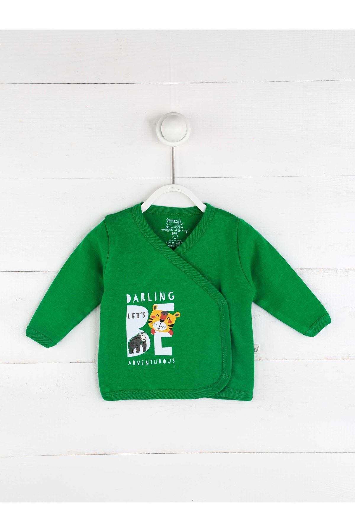 Yeşil Erkek Bebek 5 li Hastane Çıkışı