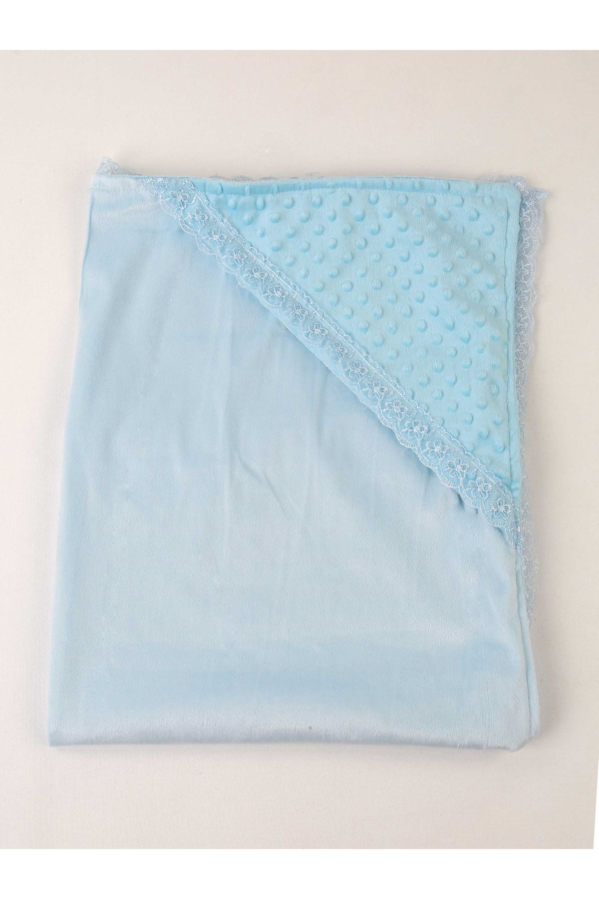 Blue 85x85 cm Male Baby Swaddle Blanket