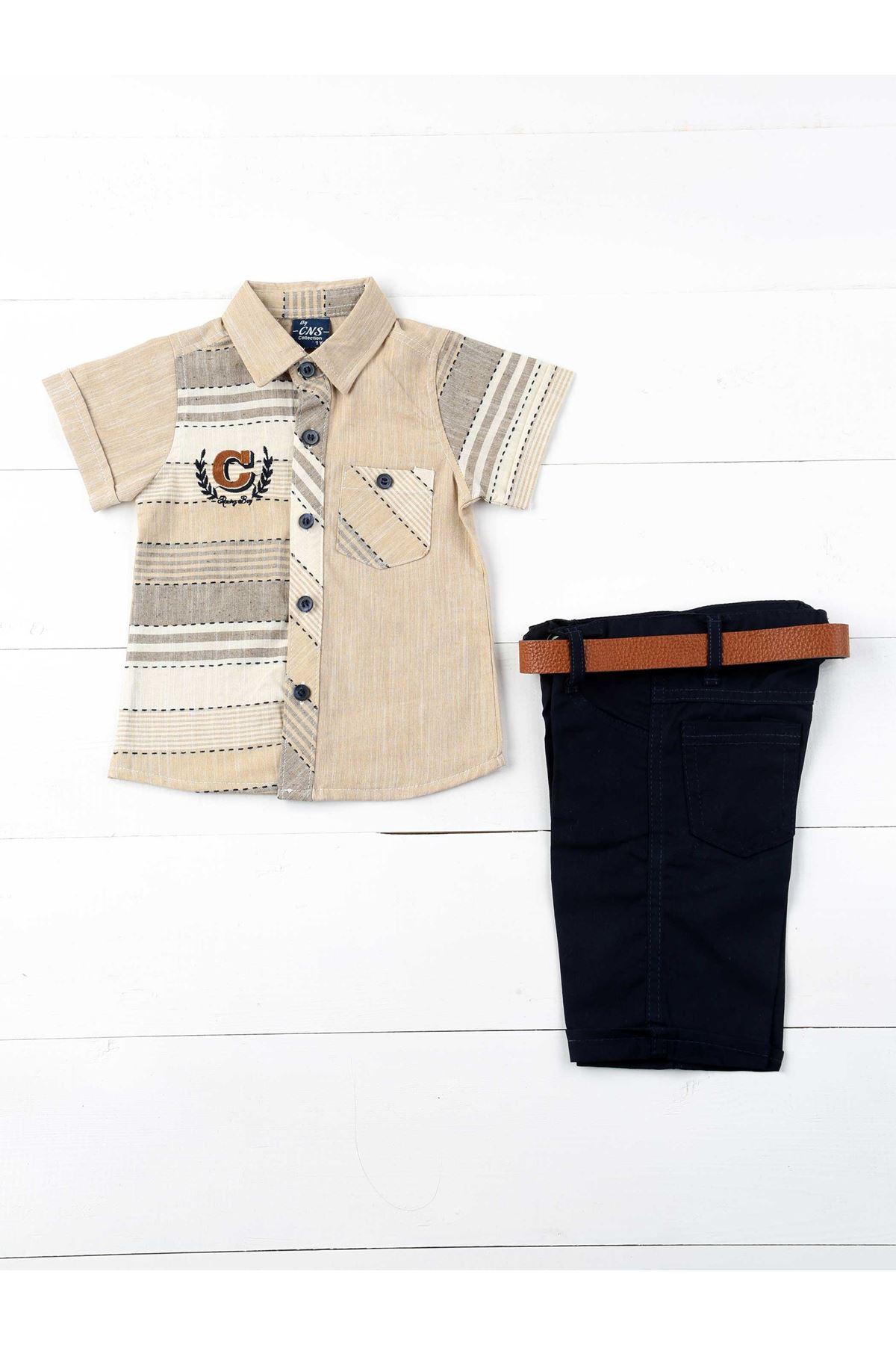 Brown Boy 3-piece Suit