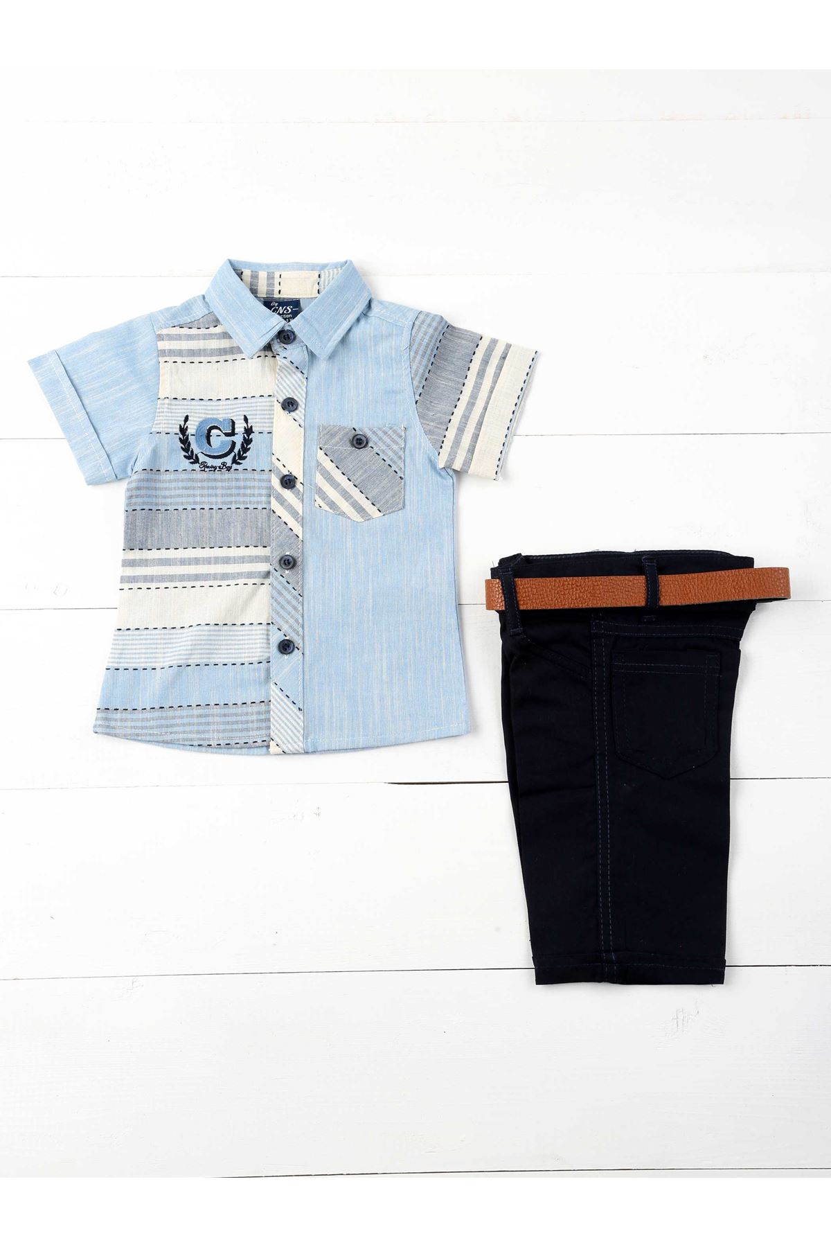 Turkuaz Boy 3 Pieces Set