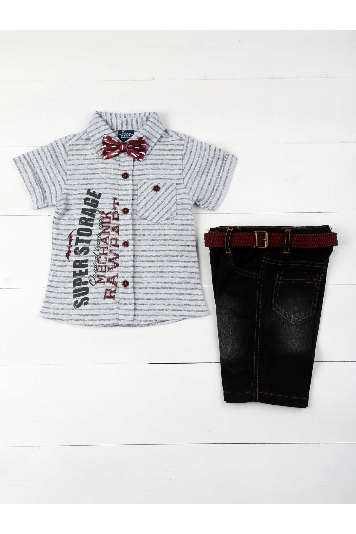 Blue Male Child 4 Piece Set