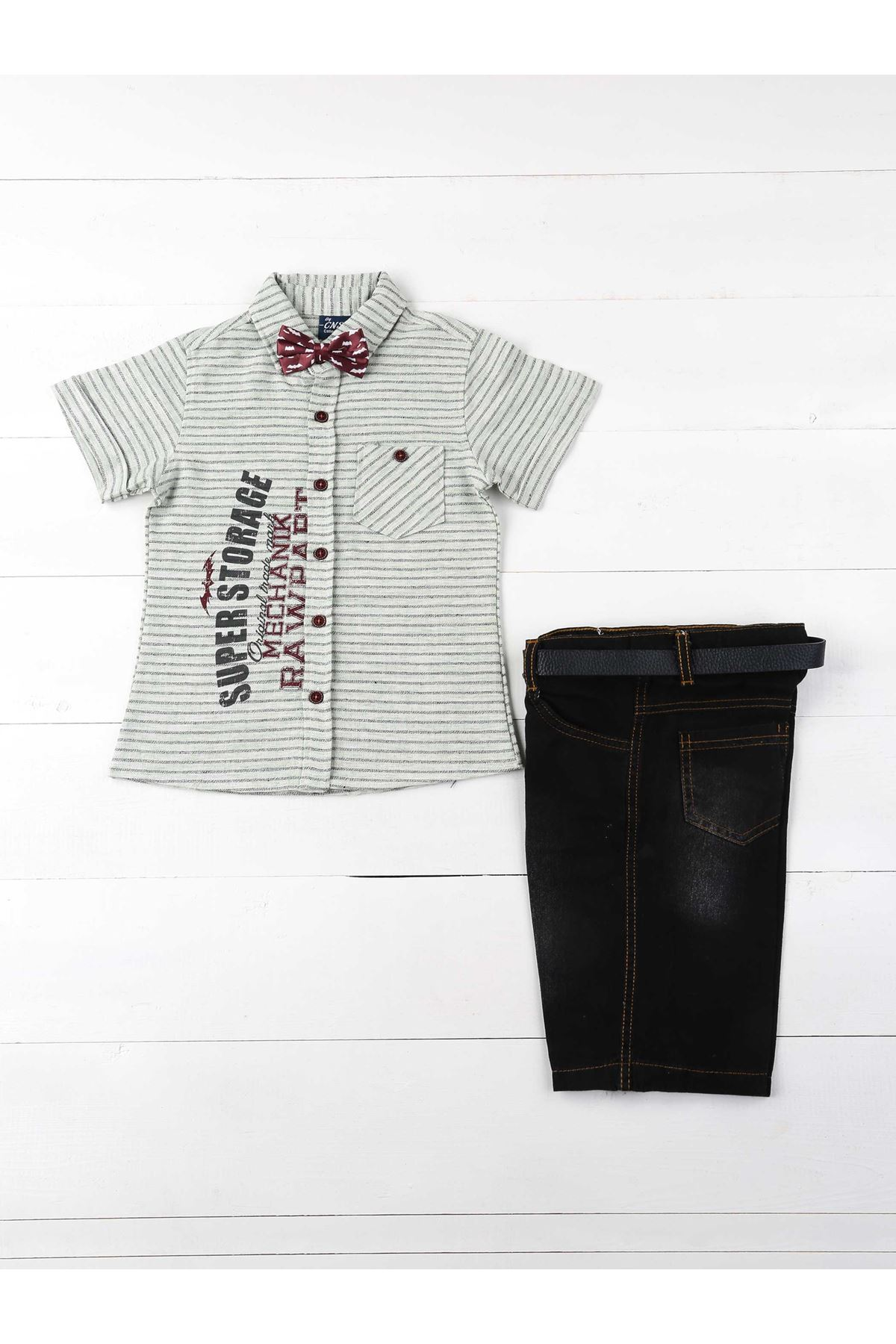 Green Male Child 4-Piece Set