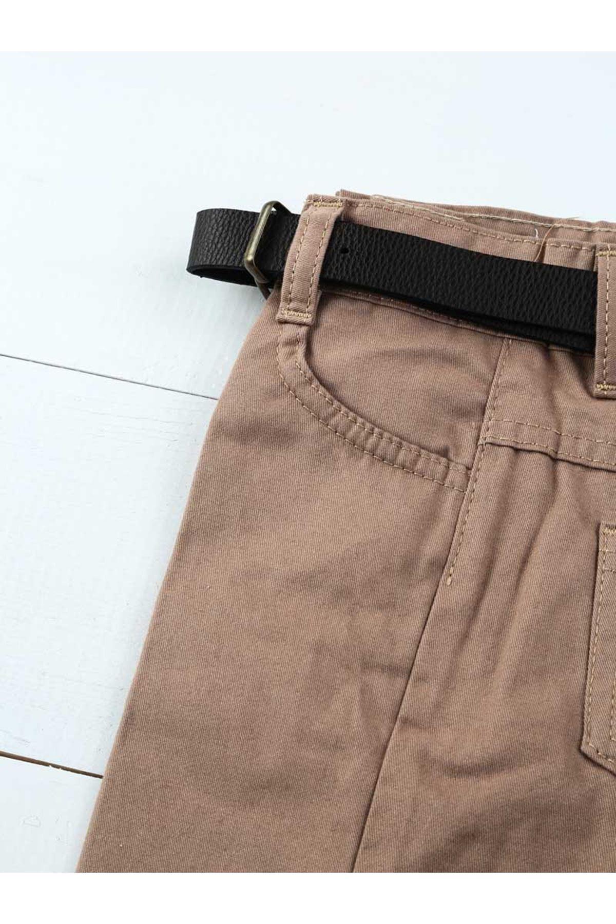 Kahverengi Erkek Çocuk Takım Elbise